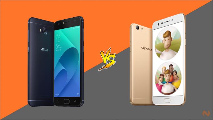 ASUS Zenfone 4 Selfie vs OPPO F3 - NoypiGeeks