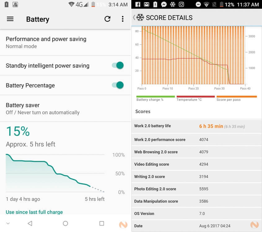 Doogee-Mix-Battery-Life