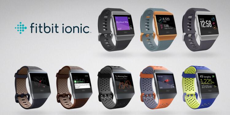 Fitbit Ionic Specs