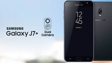 Samsung Galaxy J7+ leak