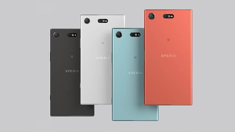 Sony Xperia XZ1 and XZ1 Compact