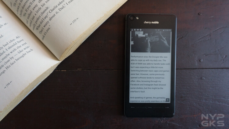 Cherry Mobile Taiji ebook reader