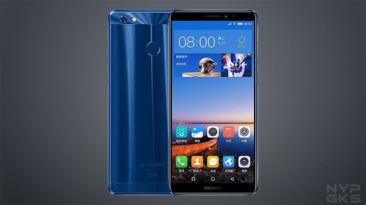 Gionee M7 Power Features
