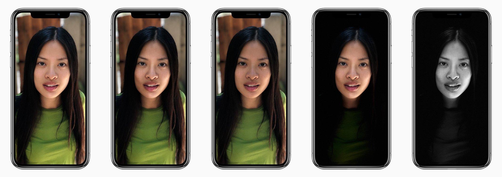 Portrait Lighting - iPhone X iOS 11
