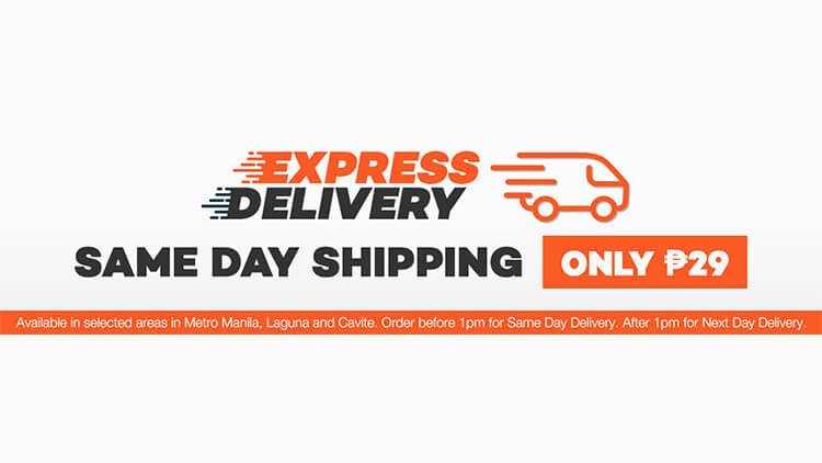 a3f253283aaec Lazada now offers same-day Express Delivery | NoypiGeeks