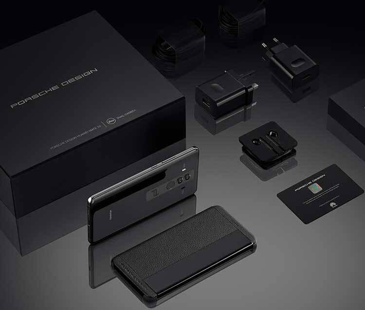 Huawei Mate 10 Porsche Design specs, packaging