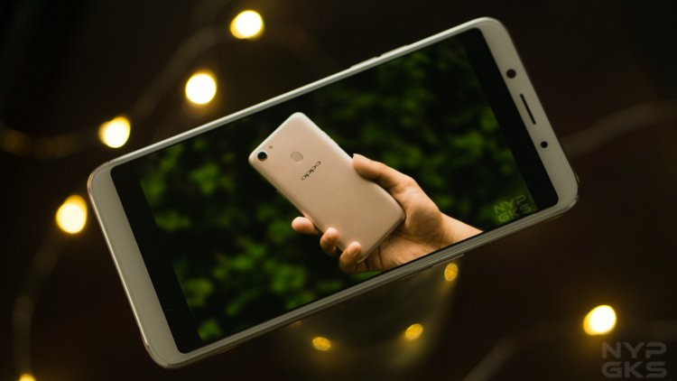 OPPO F5 gaming and apps