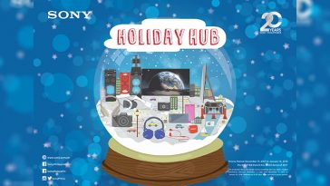 sony holiday hub promo