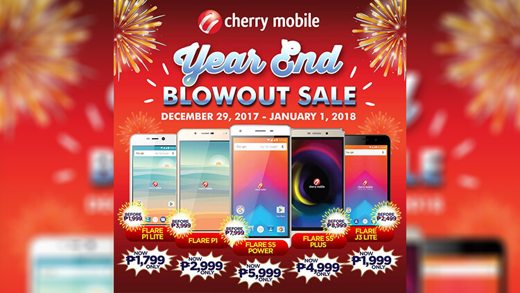 Cherry Mobile Year-end Blowout sale