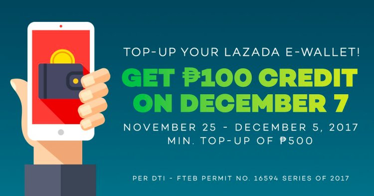 Free-credit-Lazada-E-wallet