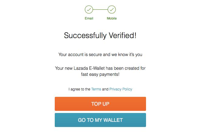 Lazada-E-Wallet-Verified