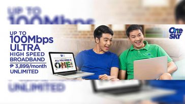 One Sky Broadband Plan 3899