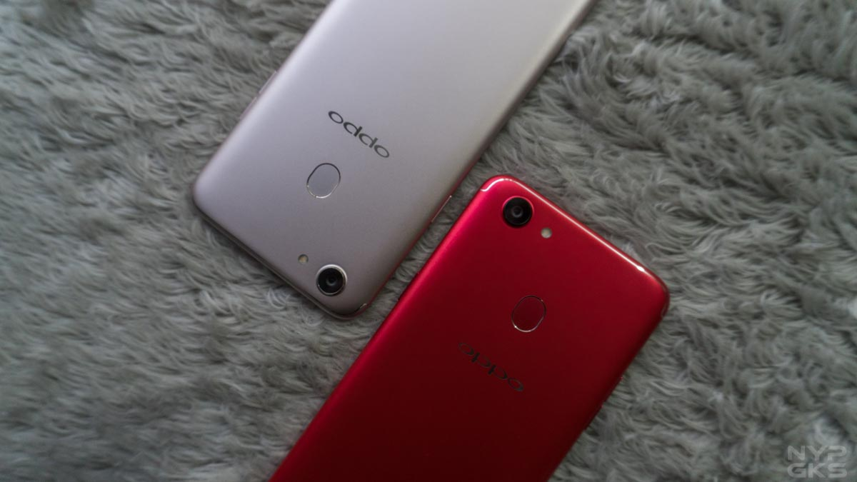 OPPO F5 6GB Red and OPPO F5