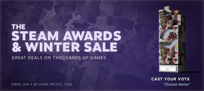 Steam Awards 2017 Winners