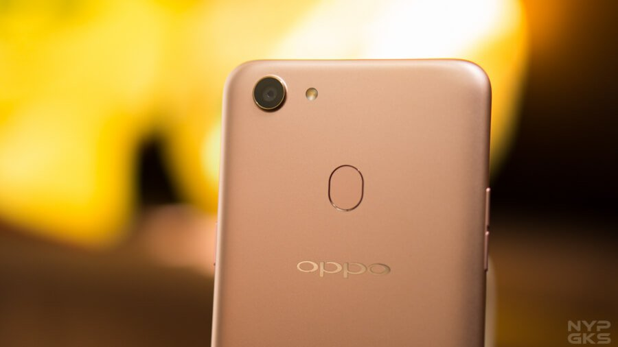 OPPO F5 Youth Face Unlock and Fingerprint Scanner