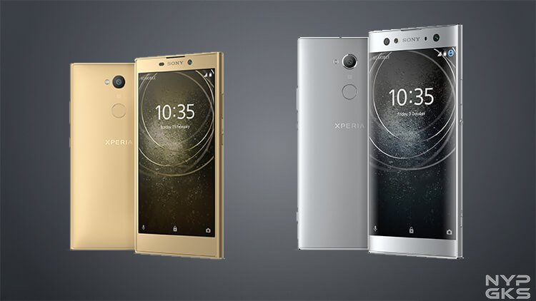 Sony Xperia XA2 and XA2 Ultra