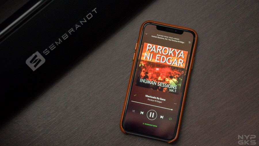 spotify iphone feature