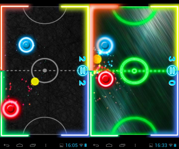Free-Android-Multiplayer-Offline-Games-Air-Glow-Hockey-NoypiGeeks