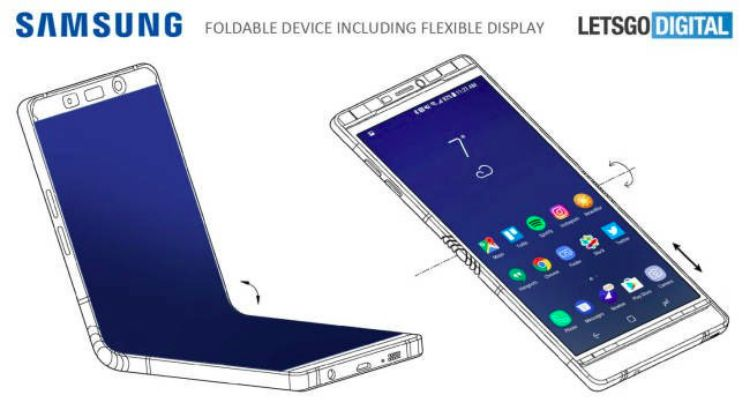 Galaxy-X-foldable-smartphone-render