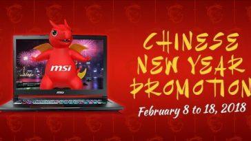 MSI Chinese New Year promo 2018