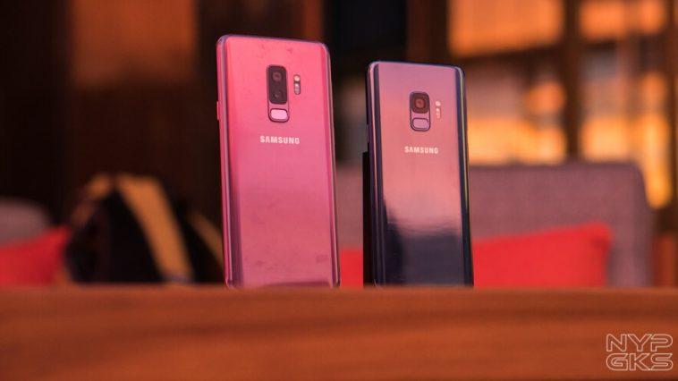 Samsung Galaxy S9 and Galaxy S9+