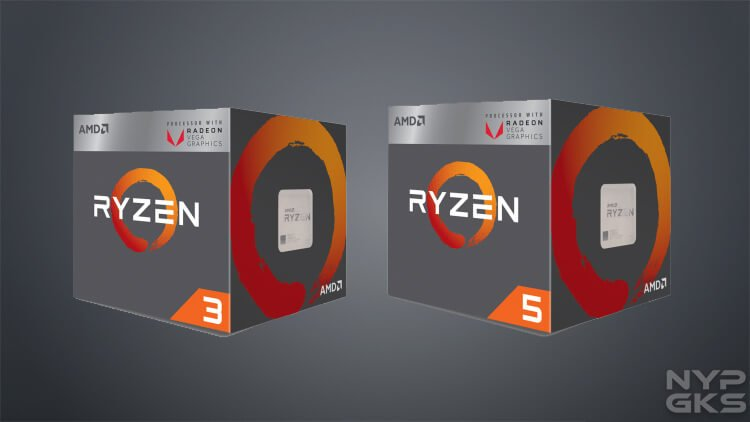 amd ryzen 5 2400g and ryzern 3 2200g apu