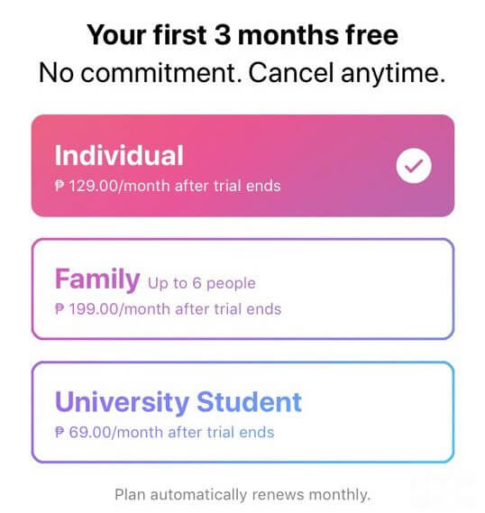 Apple Music first 3 months free — NoypiGeeks