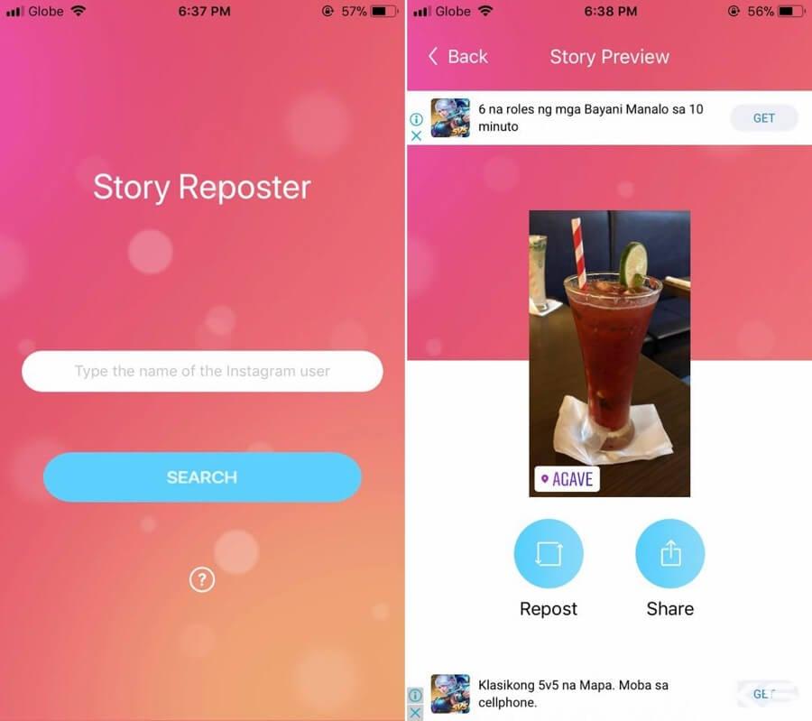 how to screenshot instagram stories - story saver app ios