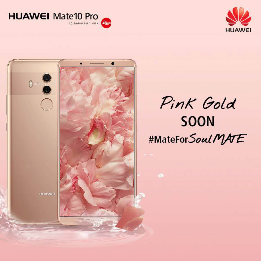Huawei Mate 10 Pro in Pink Gold to be available in PH