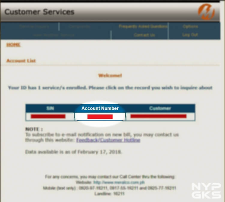 How to access MERALCO bills online - NoypiGeeks
