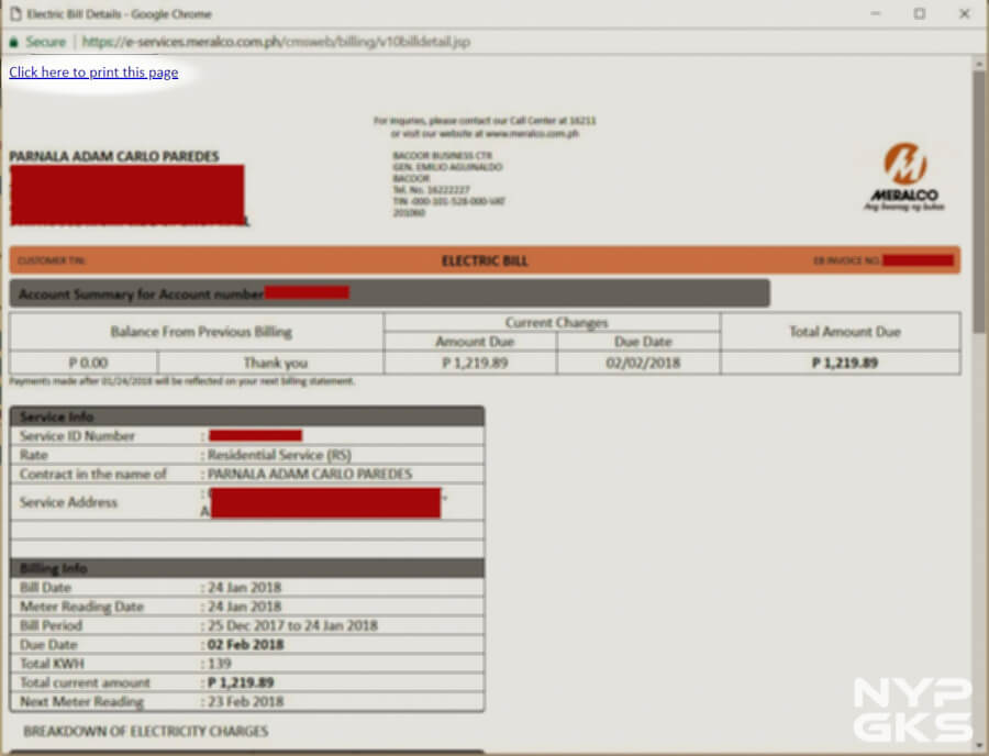 How to view and download MERALCO bills online | NoypiGeeks