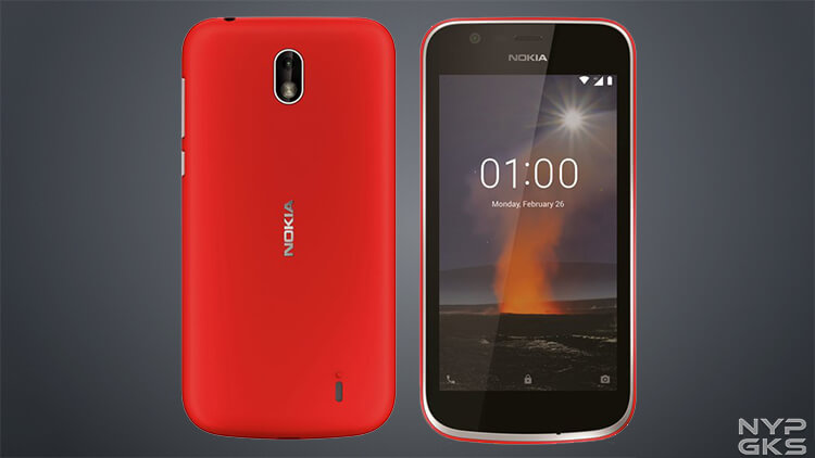 Nokia 1 smartphone for the low-end market leaked