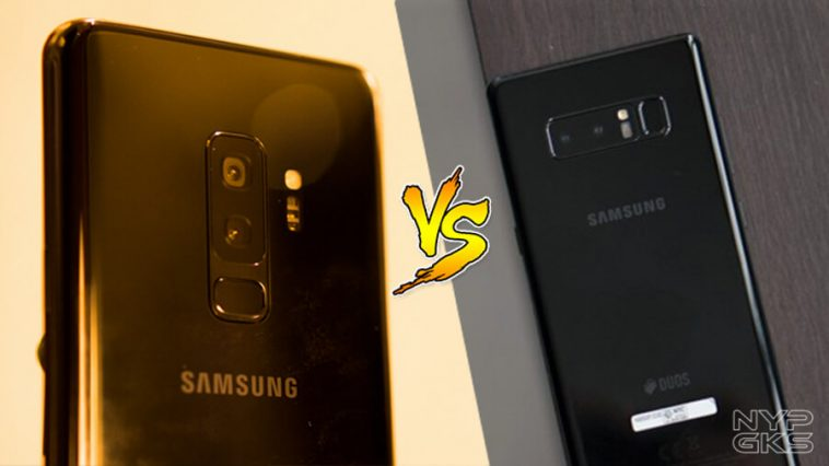 Samsung Galaxy S9 Plus Vs Galaxy Note 8 Specs Comparison Noypigeeks