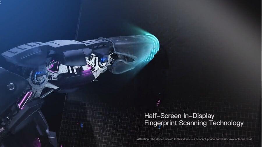 Vivo Apex in-display fingerprint scanning tech