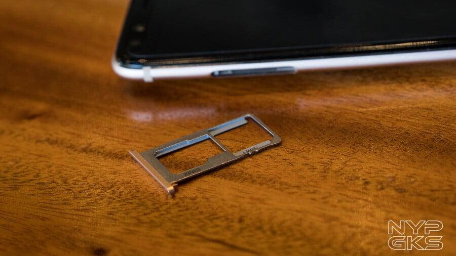 Cherry Mobile Flare S6 Plus hybrid SIM and microSD slot
