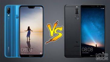 Huawei Nova 3e vs Huawei Nova 2i
