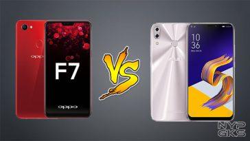OPPO F7 vs ASUS Zenfone 5 2018 Specs Comparison — NoypiGeeks