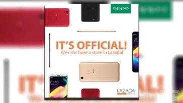 OPPO Lazada store Philippines - NoypiGeeks