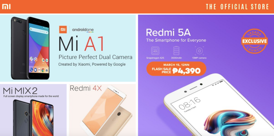 Official Xiaomi Lazada store now open for business