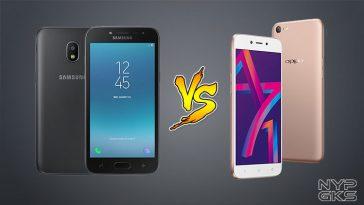 Samsung Galaxy J2 Pro vs OPPO A71 2018 - NoypiGeeks