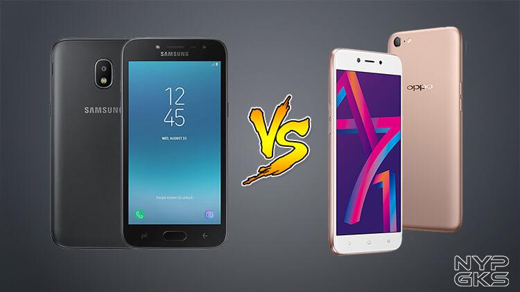 Samsung Galaxy J2 Pro vs OPPO A71 (2018): Specs Comparison