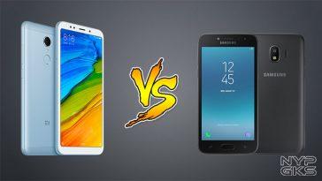 Xiaomi Redmi 5 vs Samsung Galaxy J2 Pro Specs Comparison — NoypiGeeks
