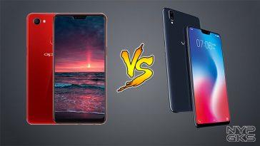 OPPO F7 vs Vivo V9 Specs Comparison — NoypiGeeks