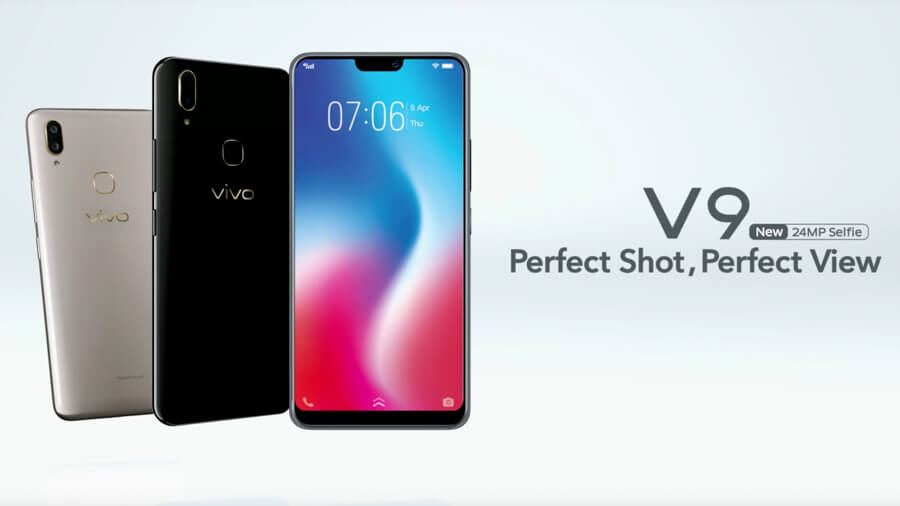 Vivo V9 official specs