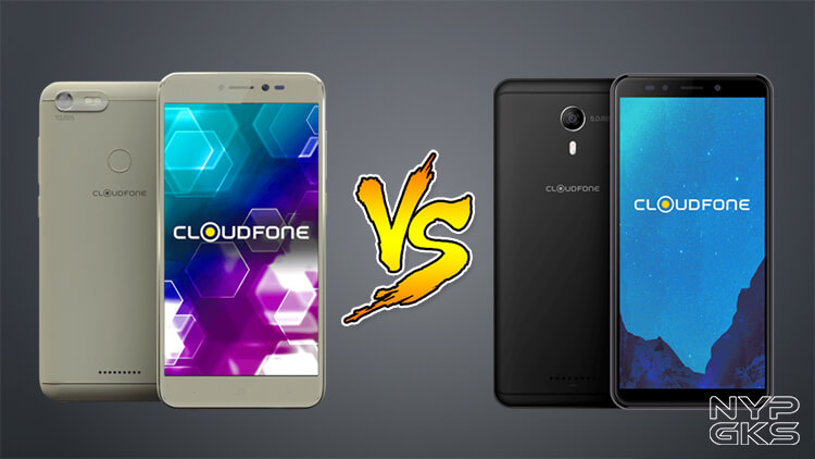 Cloudfone Thrill Snap vs Cloudfone Thrill Boost 3 Specs Comparison — NoypiGeeks