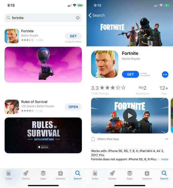 Fortnite-download-Android-iPhone-iPad
