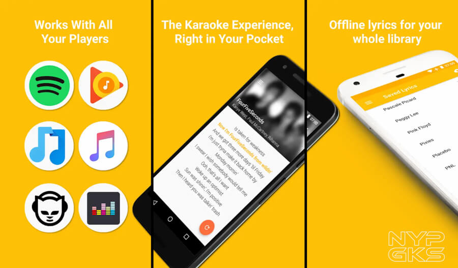 Spotify quicklyric app