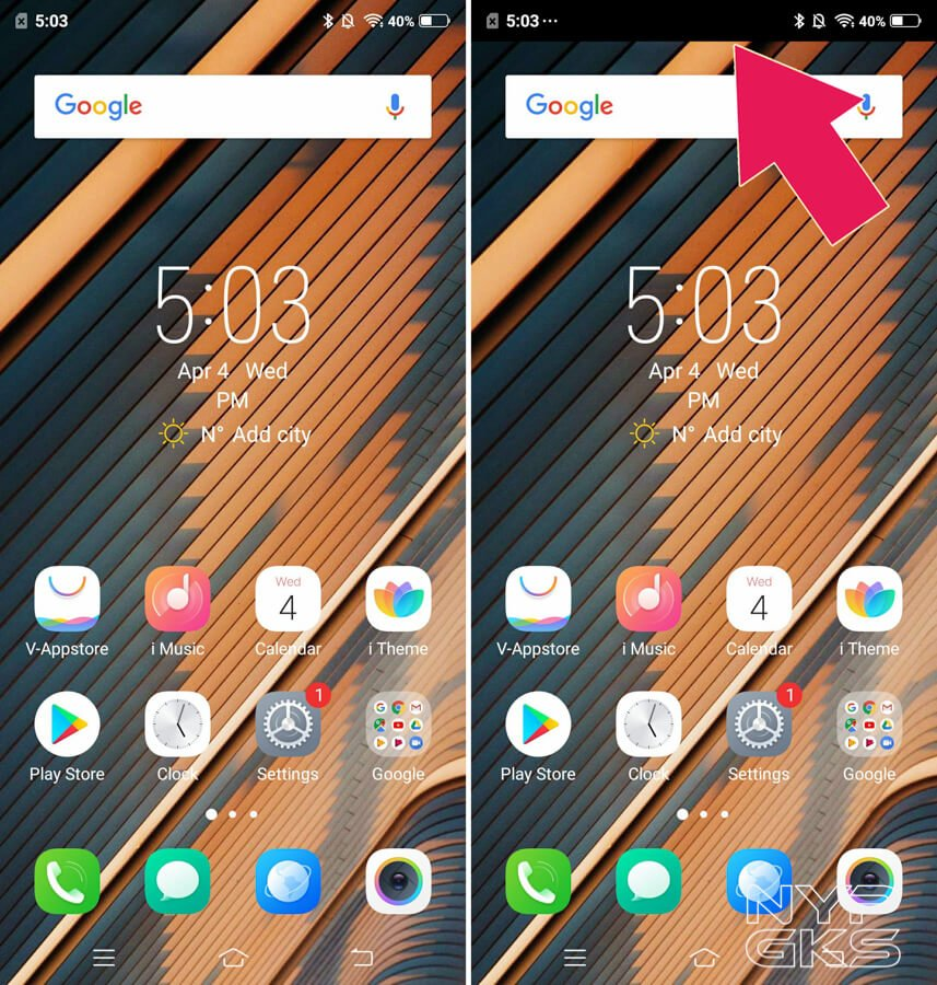 How to hide the screen notch of Android smartphones | NoypiGeeks