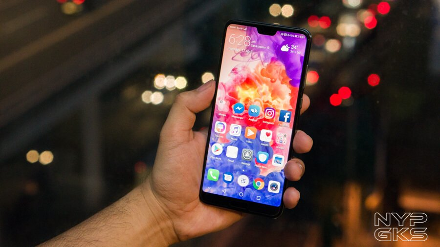 Huawei P20 Pro EMUI 9 with Android 9 Pie update rolls out in the