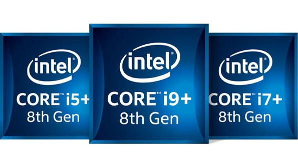 Intel Core i9+, i7+, i5+ laptop badgets